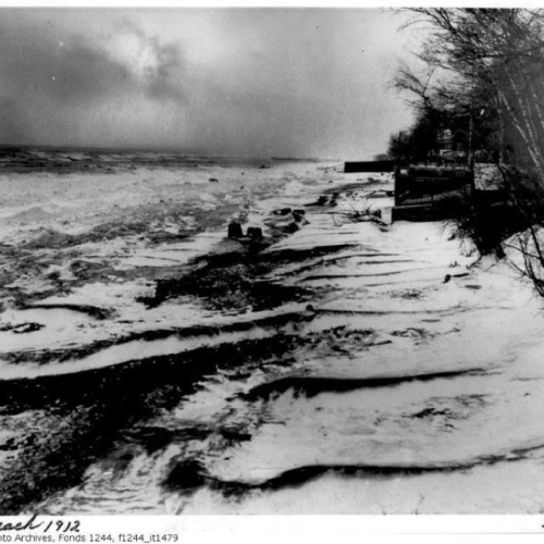 toronto | 1912 | kew beach | winter
